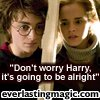 harry hermione 'don't worry harry'