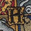 hogwarts logo sewn